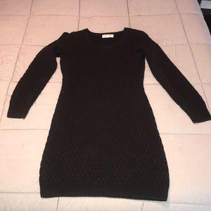 Sweater dress with stretch EUC